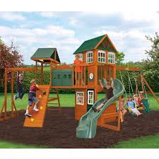 hillcrest wooden play set by big backyard only at sams picture on