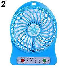 battery operated desk fan bluelans portable rechargeable summer air cooler usb 18650 battery