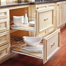 kitchen cabinets baskets rev a shelf premiere maple pullout basket for kitchen base