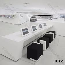 Marble Reception Desk Kkr D160114 China Stone Resin Solid Surface Marble Reception