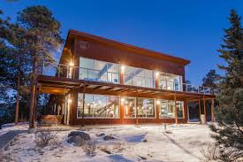 mountain home exteriors edgy colorado mountain house blends industrial chic style with ski