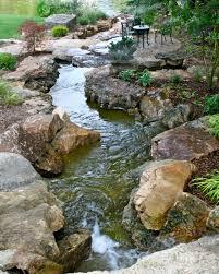backyard water feature frisella nursery landscapes pinterest