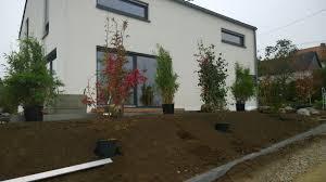 Gartengestaltung Mit Steinen Und Grsern Modern Moderner Garten Sichtschutz