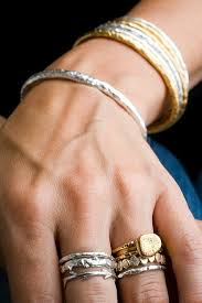 golden silver rings images Silver and gold design mom jpg