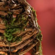 mossy twig beehive ornament decorative accents primitive decor