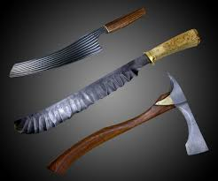 Obsidian Kitchen Knives Tempest Craft Blades U0026 Sculptures Dudeiwantthat Com