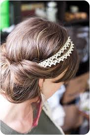 headband roll all you to do is put the headband on top of your hair while