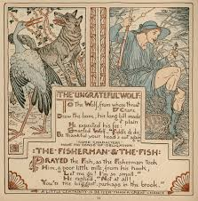 62 the ungrateful wolf baby u0027s own aesop walter crane illustrator