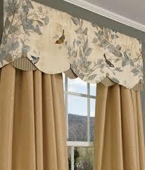 Extra Long Valance Scalloped Valance Curtains 11753