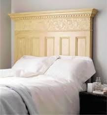 Headboard Made From A Door Head Board Out Of An Old Door Diy Pinterest Doors Board And