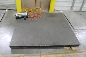 first weight model di12 1211 floor scale max capacity 5000 lbs