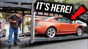 2003 mustang gt parts taking delivery of my second mustang gt blue s parts car