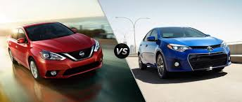 white nissan sentra 2016 compare the 2016 nissan sentra to the 2016 toyota corolla