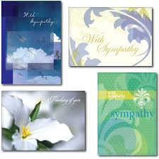 condolences greeting card sympathy card messages support