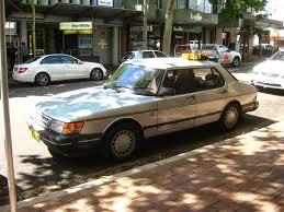 mitsubishi cordia gsr turbo aussie old parked cars 1988 saab 900 gle 16v 4 door sedan