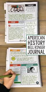 history bell ringer journal for the entire year 275