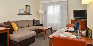 Hotel Rooms With Living Rooms by Residence Inn Denver International Airport One Bedroom 1 Queen