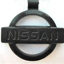 nissan black logo nissan black logo necklace pendant mirror dangler u2013 mycarkeyring