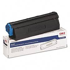 Toner Oki oki 43502001 b4600 series type 9 black toner cartridge