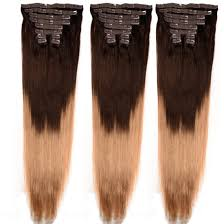hot hair extensions china clip in brown indian remy real human hair extensions