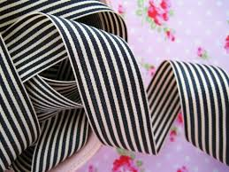 black and white striped ribbon gift wrapping organic cotton striped ribbon add to our spa buy