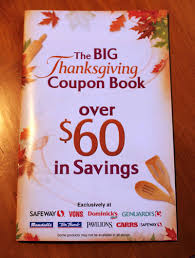 safeway thanksgiving coupon booklet more than 60 in savings