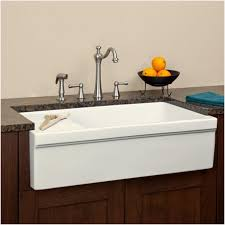 farmhouse sink with drainboard farmhouse sink drainboard 36 gallo fireclay farmhouse sink with