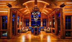 Interior Log Homes 5 Delightful Log Home Dining Rooms