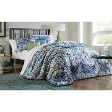 Kmart Bedding 5 Piece Comforter Set Floral Bunches Kmart Bedding