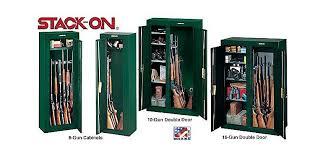 stack on double door gun cabinet policemen bedroom with dark green metal stack on gun storage cabinet