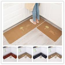 Rubber Backed Kitchen Rugs 2 Pcs Kitchen Mat Anti Slip Rubber Backing Kitchen Rug Water