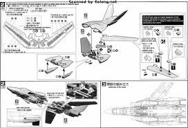 bandai 1 72 vf 1a s valkyrie english manual u0026 color guide mech9