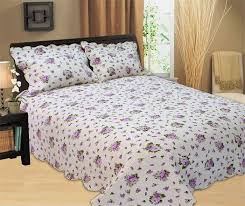 flowers full size bed sets soft comfortable with 100 polyester