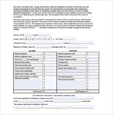 sample financial report template 10 free documents download in