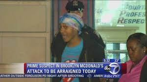attacked in violent fight caught on camera at brooklyn