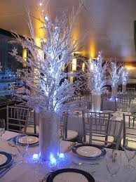 winter centerpieces winter theme centerpiece centerpieces winter and sweet 16