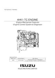 npr manual y diagrama motor isuzu 729 4hk1 training pdf documents