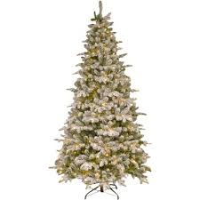 the aisle snowy everest frosted green fir artificial