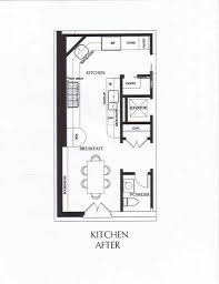 Kitchen Floor Plans With Island Kitchen Galley Kitchen With Island Floor Plans Holiday Dining