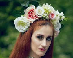 flower headdress flower headdress on other dresses dressesss