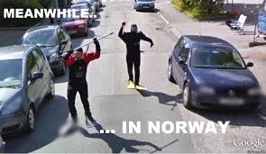Norway Meme - funny pic meanwhile in norway viral viral videos