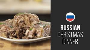 new year dinner recipe russian meat aspic gastrolab russian christmas dinner