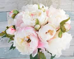 Faux Peonies Flash Sale 45 Usd Was 55 Usd Fuchsia Light Pink Peonies And