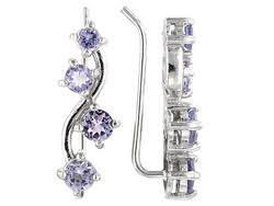 tanzanite earrings tanzanite earrings shop affordable tanzanite earrings jtv