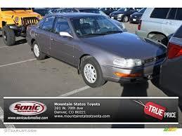 1992 silver taupe metallic toyota camry xle sedan 74543660