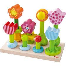 Haba Bad Rodach Haba Steckspiel Blumengarten 301551 Babymarkt De