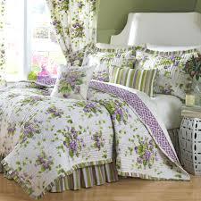 bedding ideas bedroom design red lucille floral pattern bedding