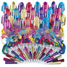 new years party packs unique big bash new years party favors 125pc 50 person party pack