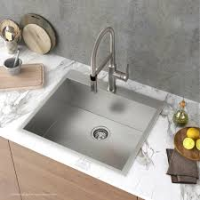 25 Inch Kitchen Sink Stainless Steel Kitchen Sinks Kraususa