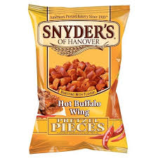 pretzel delivery snyder s of hanover hot buffalo wing pretzel pieces 12oz